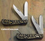 Shaw Leibowitz Trapper Knife Set sterling silver